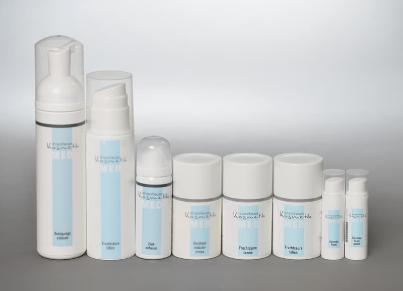 Trennheuser Kosmetik Pflegeserie MED